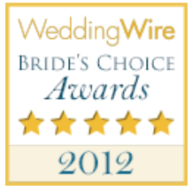 wedding wire couples choice award 2012 graphic