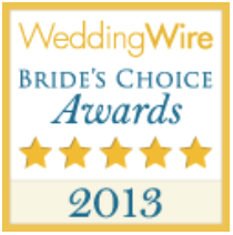 wedding wire couples choice award 2013 graphic