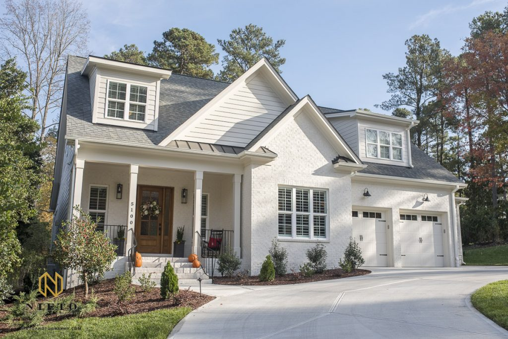 home exterior shot by Raleigh Real Estate Photographer Nieto Photography