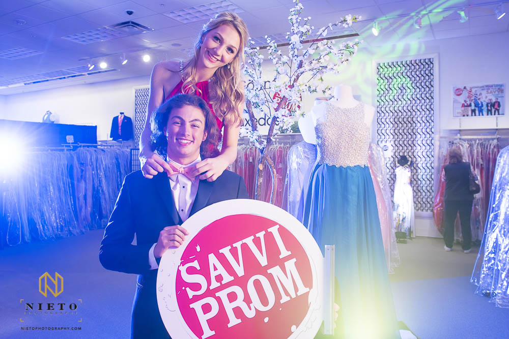 Savvi prom models posing for a Raleigh Commercial Photographer
