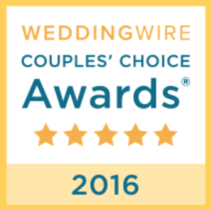 wedding wire couples choice award 2016 graphic
