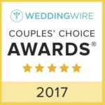 wedding wire couples choice award 2017 graphic