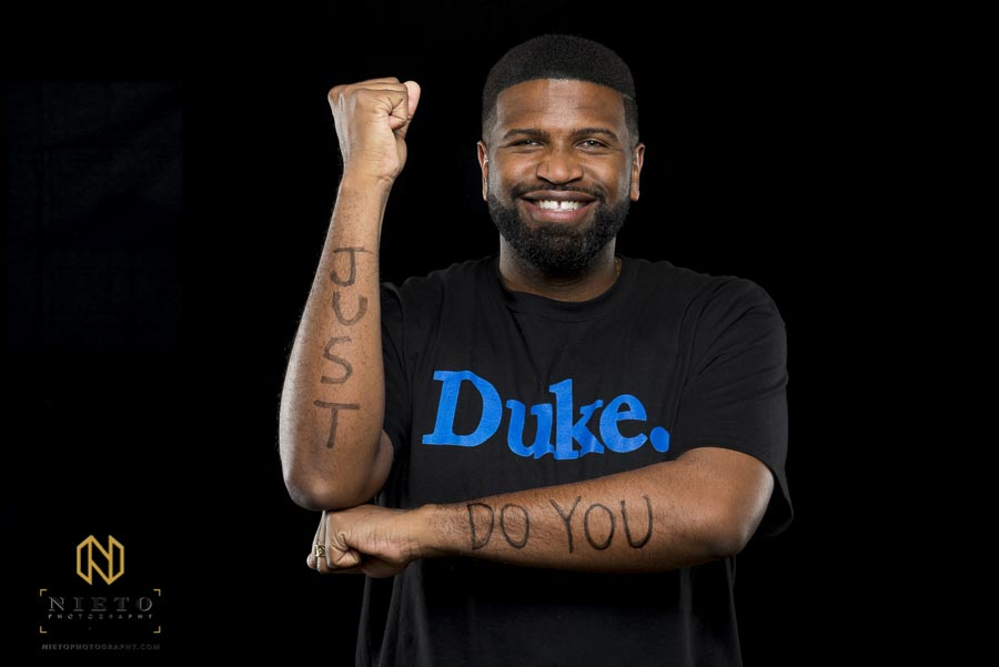 Duke Fuqua MBA student poses for portrait
