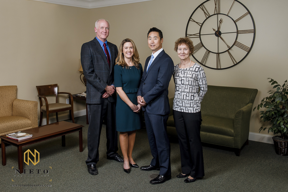 physicians portrait at Carolina Conceptions in Raleigh