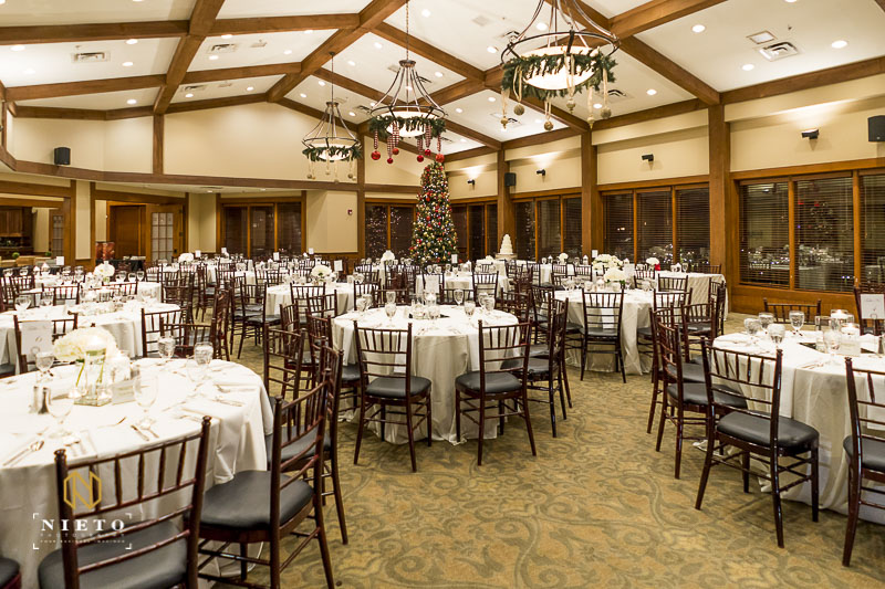 MacGregor Downs Lakeside banquet hall ready for guest