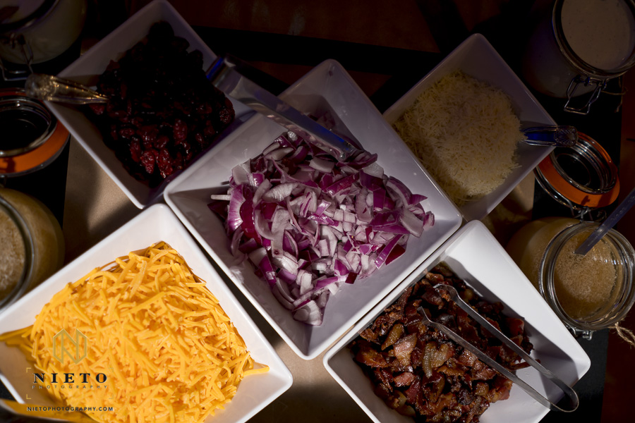 toppings from City BBQ for mash potatoes