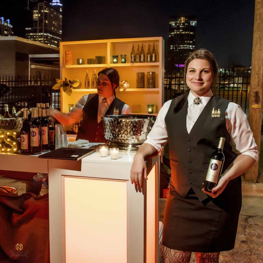 Pour Bar Outdoor event in downtown Raleigh