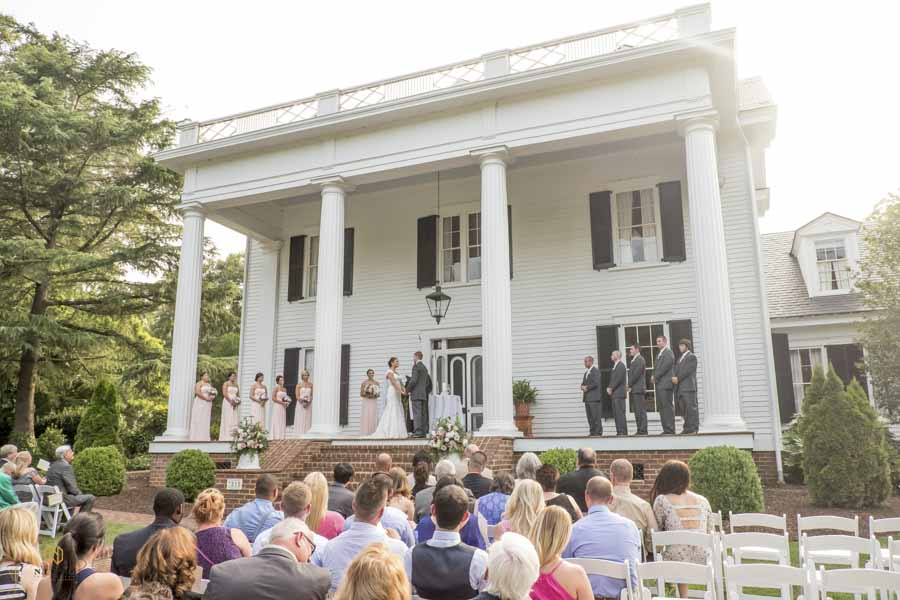 Rose Hill Plantation wedding ceremony
