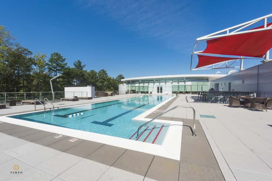 rooftop pool center