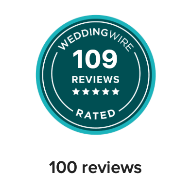 Wedding Wire Review Badge 100