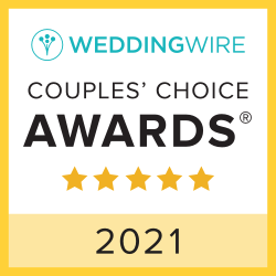 Wedding Wire couples choice award 2021